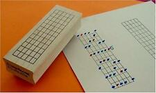 The Ultimate Guitar Chord Rubber Stamp - 12 Frets, New, Free Shipping