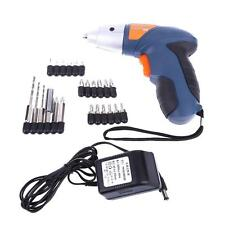 Power Screwdriver Tool Li Ion Electric Cordless Lithium Drill 4.8V Rechargeable