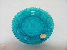 VINTAGE WESTMORELAND BLUE HENRY CLAY COIN PLATE