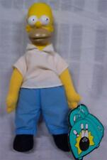 "1990 Burger King The Simpsons HOMER SIMPSON 11"" Plush STUFFED DOLL Toy"