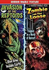 Invasion of the Reptoids/Zombie on the Loose DVD Region ALL, NTSC