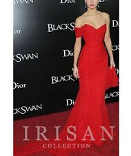 2016 Red Celebrity Designer Ruching Formal Party Ball Prom Gown Evening Dress