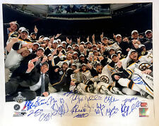 Boston Bruins 2011 Stanley Cup Champions Signed Autographed 16x20 - 19 Players A