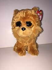 "TY BARLEY CHOW CHOW 6"" BEANIE BOOS-NEW, MINT TAG *IN HAND NOW* SUPER SOFT & CUTE"