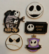 5 NIGHTMARE BEFORE CHRISTMAS DISNEY TRADING PIN LOT Tradable Lapel Pins