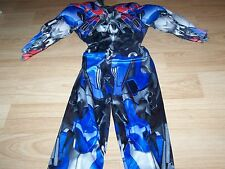 Size 2T Transformers Optimus Prime Muscled Chest Halloween Costume Jumpsuit New