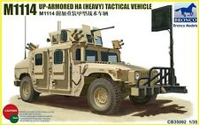 BRONCO CB35092 1/35 M1114 UP-ARMORED HA TACTICAL VEHICL