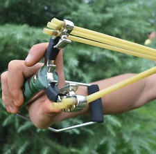 Slingshot WRIST Brace Powerful Sling Shot High Velocity Catapult Hunting Folding