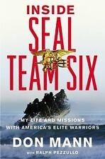 INSIDE SEAL TEAM SIX RALPH PEZZULLO DON MANN (HARDCOVER)