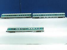 Fleischmann N 7438K Dieseltriebzug BR614 mit 7439K Mittelwagen der DB B2666