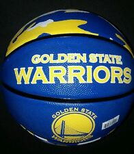 Spalding NBA Golden State Warriors Full-Sized Court Side team Basketball, 29.5""