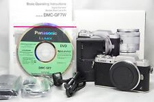 Panasonic LUMIX DMC-GF7 Digital Camera Silver Body Only SN FR5CA501038 *Boxed*
