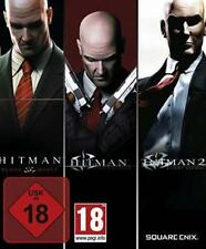 Hitman Trilogy Blood Money + Contracts + Hitman 2 Silent Assassin Sehr guter Zus