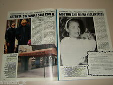 STEPHANIE DE MONACO clipping articolo fotografia foto photo 1987 AS21