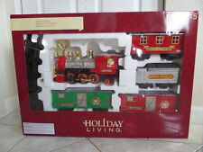 Holiday Santa Express Lighted & Sound Christmas Train Set 5 Ft Diameter Track