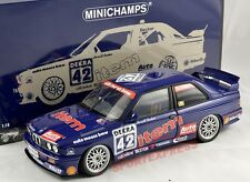New 1/18 Minichamps bmw m3 e30, DTM 1992, Harald becker #42, 528pcs Limited