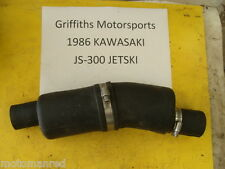 86 KAWASAKI JS300 300 JS sx JET SKI STAND UP 87 88 EXHAUST PIPE RUBBER HOSE BAFF