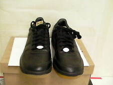 Nike zoom supreme court low black leather shoes size 9.5 us