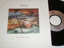 "7"" - Sting - All this Time & I miss you Kate - 1991 Lyrics # 4725"