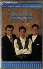 "WON BY ONE...""GIVE HIM A SONG""......NEW SEALED GOSPEL CASSETTE"