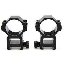 Dovetail Weaver High 20mm Mount Dia 30mm Ring Picatinny Mount Scope Rifle FG