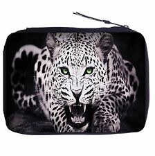 Leopard Color Pen Case Bag Stationery Kit