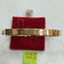 18k saudi gold 10.7g gold Rose Cartier design  Bangle bracelet,