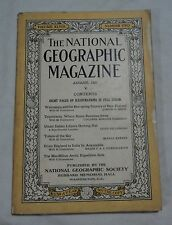 August 1925 National Geographic New Zealand Italian Lybia Arctic Expedition