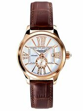 NEW Ingersoll 5007RG Womens Brown & White w/Gold Destiny WATCH Analog art-deco