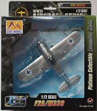 """Easy Model - Brewster F2A """"Buffalo"""" Luftwaffe Finnland 1:72 Neu/OVP Flugzeug"""