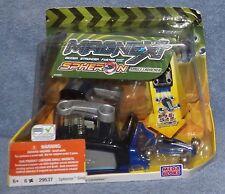 MEGA BLOKS MAGNEXT SPHERON SINGLE CAR LAUNCHER #29537 BLUE CAR