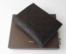 New in Box Gucci Bi-fold Dark Brown Guccissima Leather Wallet 292533