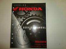 1995 1996 1997 1998 Honda TRX400FW FOURTRAX FOREMAN 400 Service Repair Manual NE