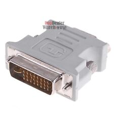 DVI-I DVI MALE TO VGA Female MONITOR F CONVERTER VIDEO ADAPTOR 15 29 PIN SVGA