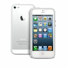 New Photive Hybrid iPhone 5 Bumper Case, White , Designed for The New iPhone 5s