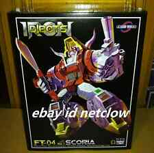Transformers Fans Toys FT-04 Masterpiece MP Slag Scoria Dinobots in Stock
