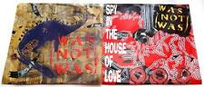 Lot of 2 Was Not Was 45 rpms Spy In The House & Walk The Dinosaur  Pic Slv  VG++