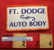 Vintage FORT DODGE AUTO BODY Car / Auto Related Patch ~ Iowa C63B