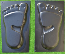 FOOT YETI PRINT MOLD  PAVING CONCRETE STONE MOULD GARDEN PATH TRACE  FOOTPRINT