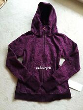 Lululemon Scuba Hoodie III Posey Red Grape Bordeaux Drama 12