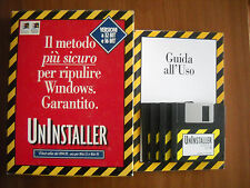 Uninstaller Versione su 4 Floppy per Windows 95 e 3.1