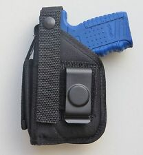 Hip Belt Holster for RUGER SR22 With Mounted Crimson Trace CMR-203 Laser Sight