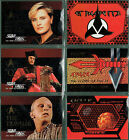 STAR TREK THE NEXT GENERATION SEASON ONE SET OF 6 EMBOSSED CARDS SP1-SP6