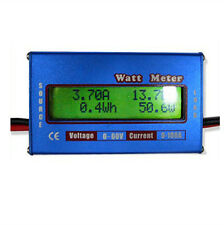Digital 60V 100A Balance Voltage Battery Power Analyzer RC Watt Meter Checker