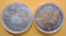 CANADA 1976 OLYMPIC $5 SILVER COIN *No 2**
