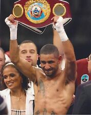 DIEGO CHICO CORRALES 8X10 PHOTO BOXING PICTURE WITH BELT