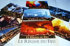 LE REGNE DU FEU ! jeu 10 photos cinema lobby cards fantastique