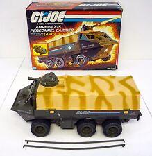 GI JOE APC Vintage Action Figure Vehicle Personnel Carrier COMPLETE w/BOX 1983