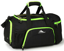 High Sierra Sport Gear Cross Sport Ringleader Duffel Bag - Black