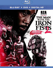 THE MAN WITH THE IRON FISTS 2 BLURAY & DVD + DIGITAL COPY WITH SLIPCOVER